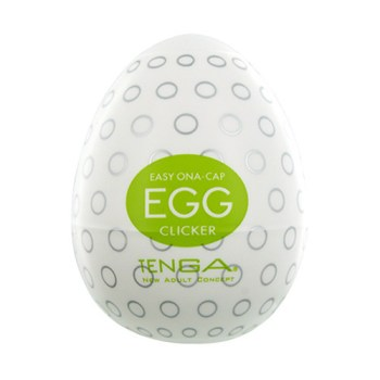 Tenga Egg Clicker masturbation sleeve