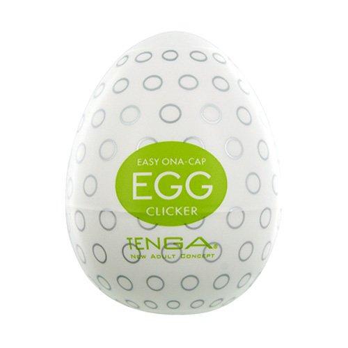 Tenga Egg Clicker masturbation sleeve