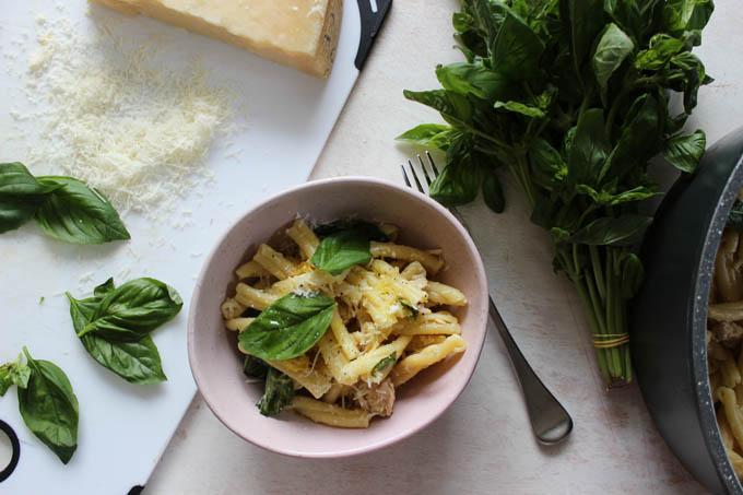 Easy Tuna and Lemon Pasta