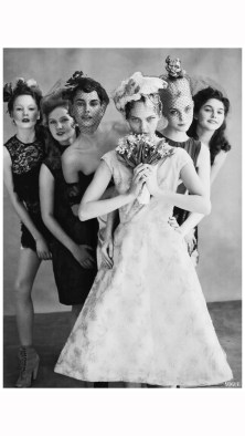 Photo Arthur Elgort Sasha Pivovarova vogue us june 2009 the wedding party b