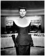 "after eleven at nigh Chez Maurice "", Grit Hübscher in beaded cocktail dress, photo by F.C. Gundlach, 1955 c"