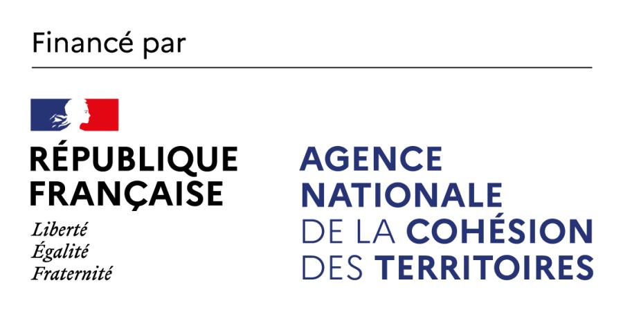 """Les Formations """"Valeurs de la République et Laïcité"""" sont financée par l'ANCT Agence Nationale de la Cohésion des Territoires"""