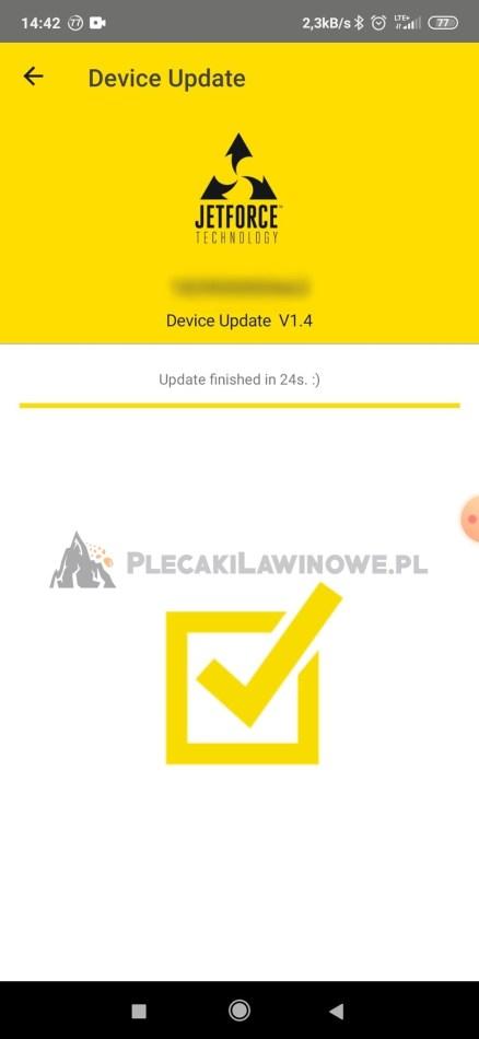 Black Diamond Jetforce PRO Firmware Update