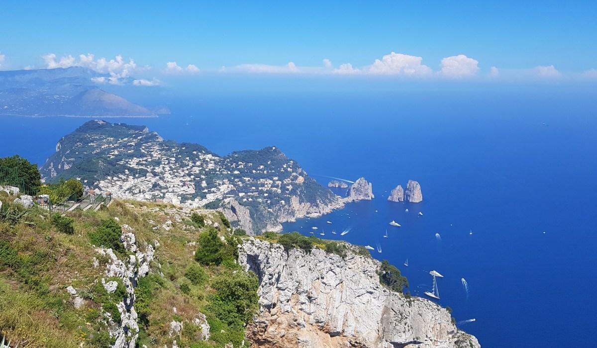 Ce să faci o zi pe insula Capri - traseu și prețuri