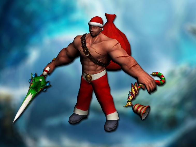 [FREE]Christmas blacksmith boss