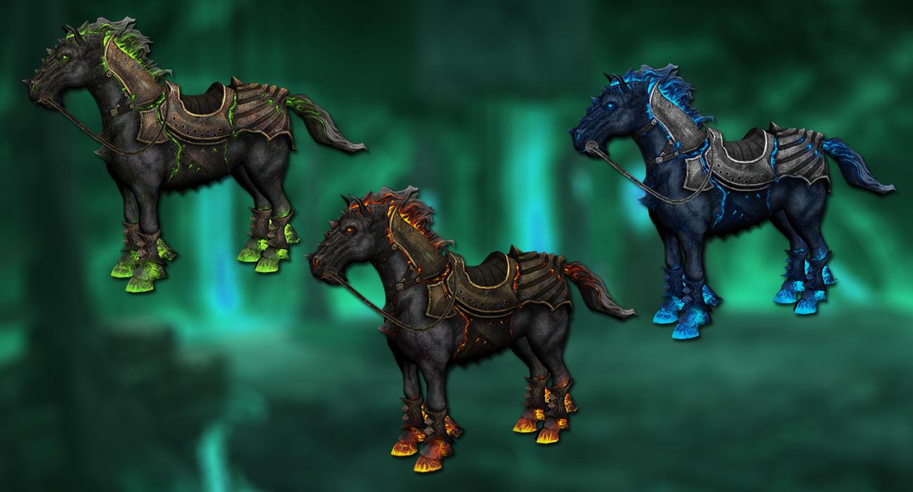 New horses
