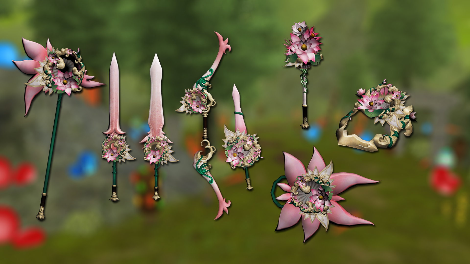 Easter/Spring 2020 weapons