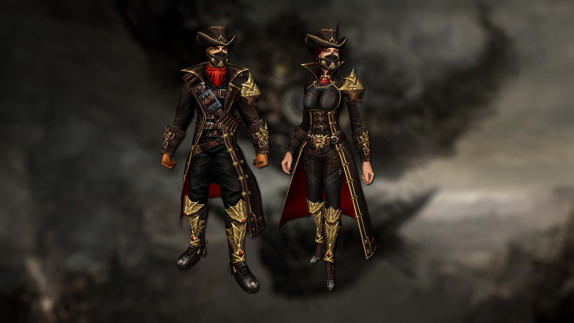 Adventure bandit costumes