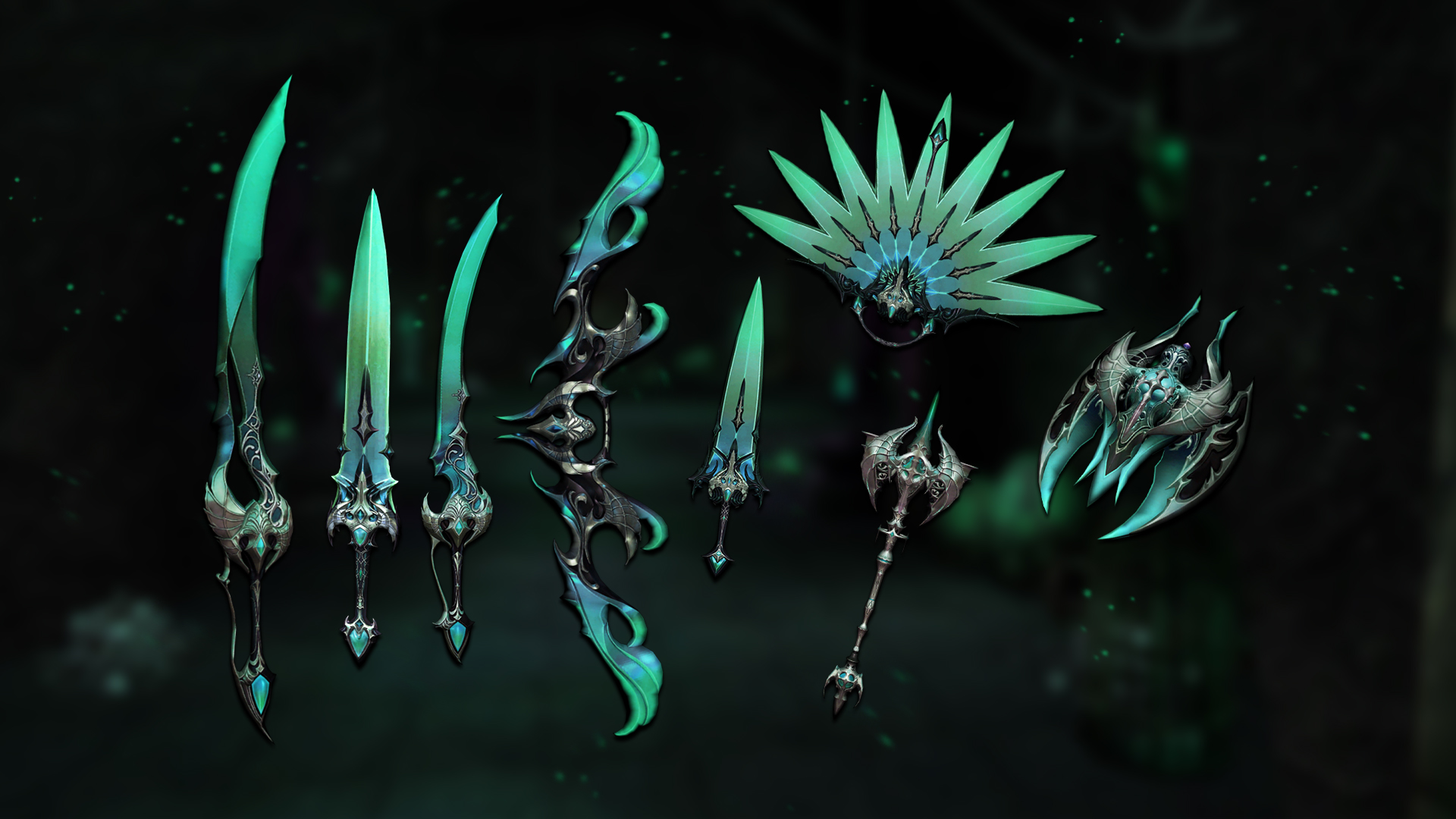 Shadow weapons