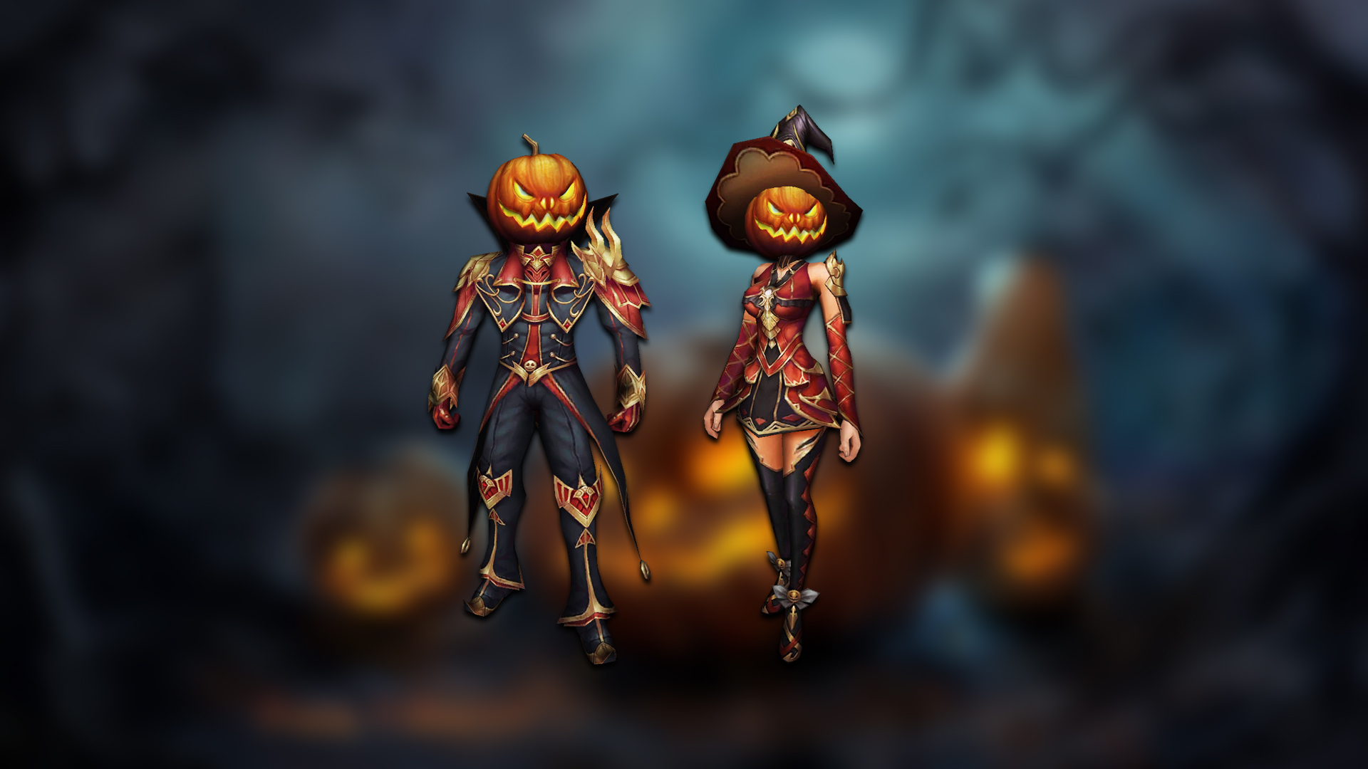 You are currently viewing Jack-O'-Lantern's costumes