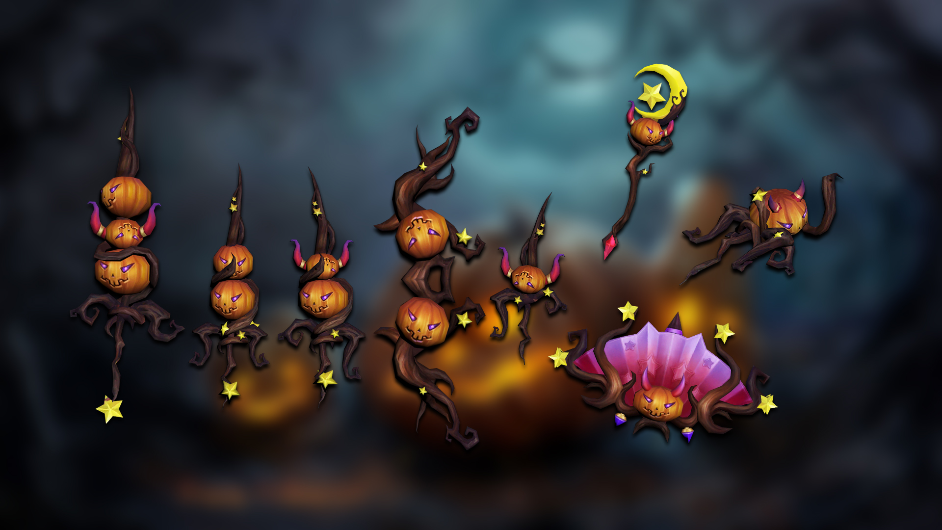 Read more about the article Jack-O'-Lantern's weapons