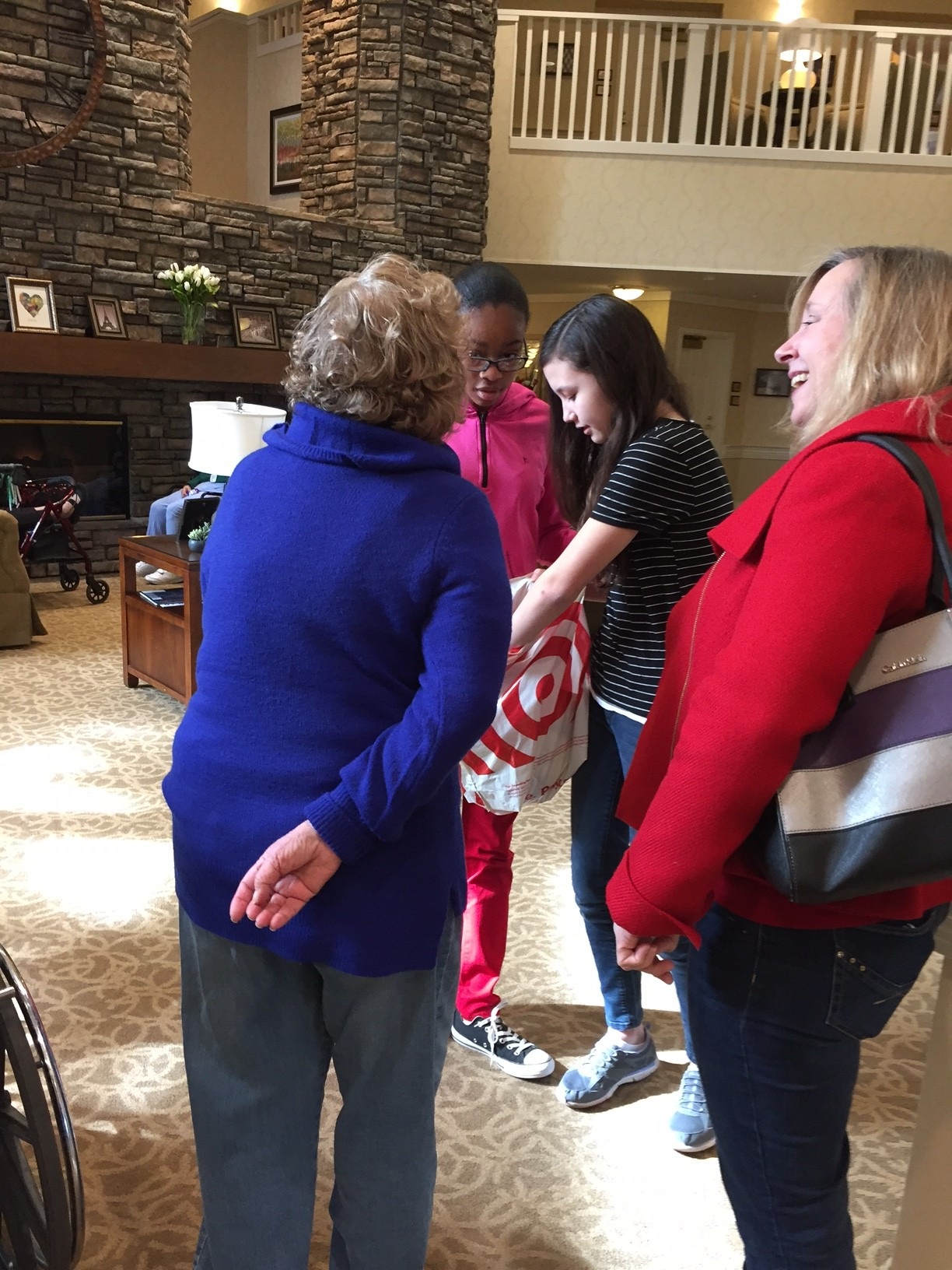 PTH Kids Visit Sunrise Senior Center In Walnut Creek