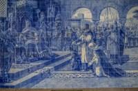 Azulejos de la gare Sao Bento