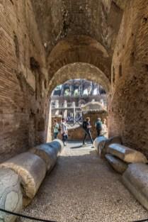 Sur les traces des gladiateurs.