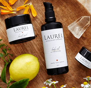 Skincare with True Plant Purity: Laurel Whole Plant Organics