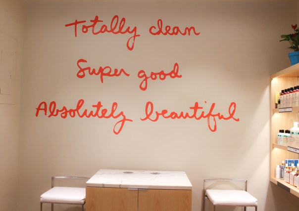Credo Beauty NYC wall logo
