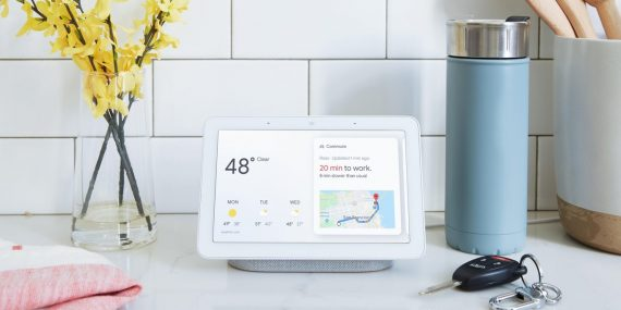 Tecnologías de Apoyo tu casa inteligente con Google Home Hub
