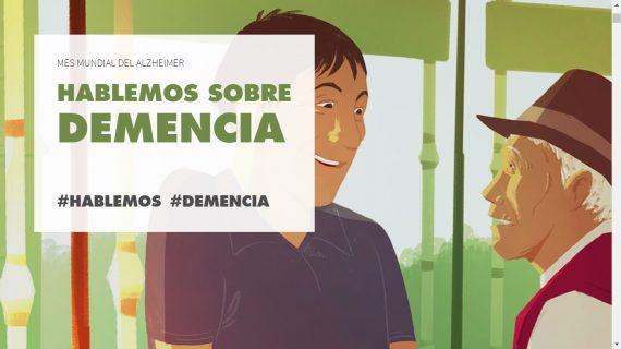 """Campaña Alzheimer: """"Hablemos sobre la demencia"""""""