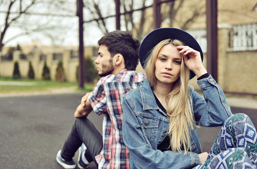 pareja muere la relación