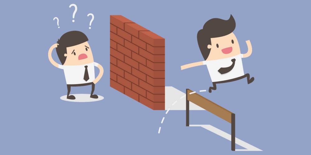 obstáculos para resolver un problema
