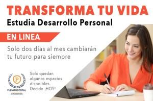Estudia Desarrollo Personal