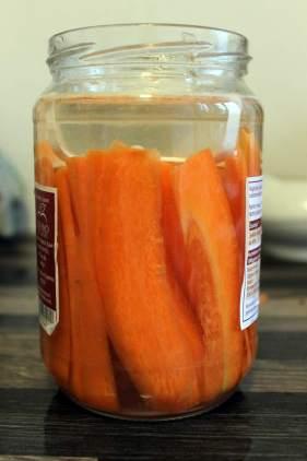 lacto fermented carrots