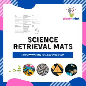 Y1-6 Science Retrieval Mats