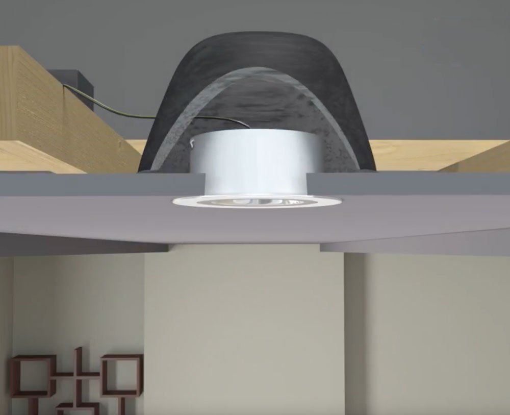 Kit Convert Recessed Light Pendant