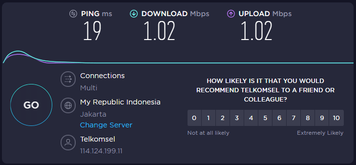speedtest by u 1 mbps