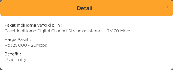 benefit paket streamix 20mbps baru