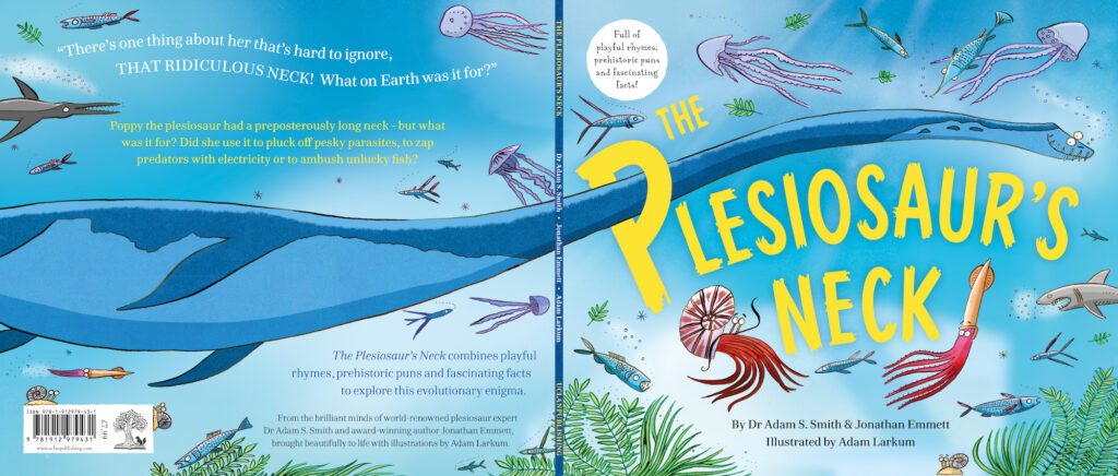 The Plesiosaur's Neck book front and back covers