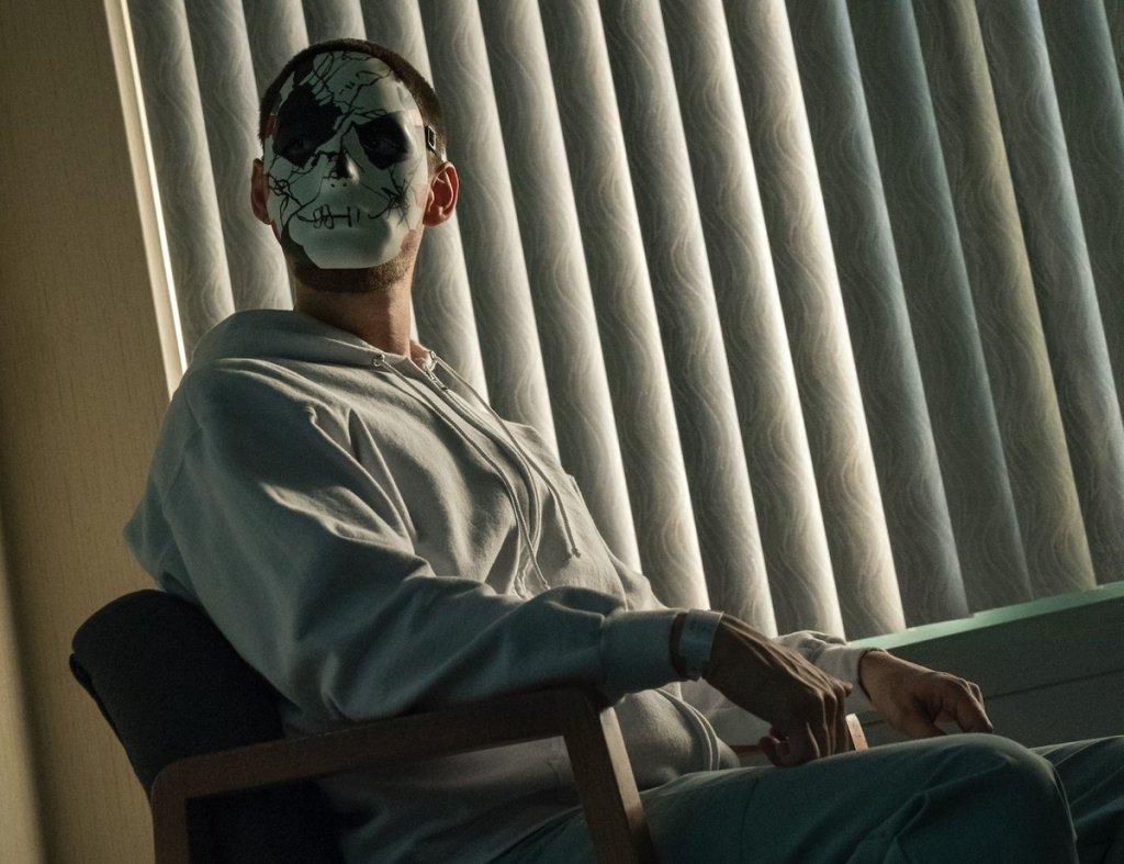 Ben Barnes como Billy Russo en la temporada 2 de The Punisher. Imagen: See What's Next Twitter (@seewhatsnext).