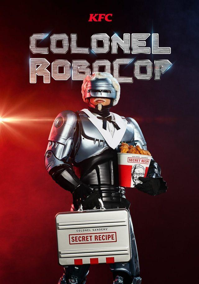 RoboCop mantiene el secreto de las 11 hierbas y especias de KFC. Imagen: Fox News