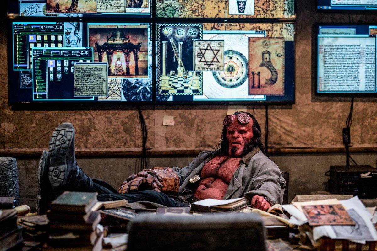 El verdadero nombre de Hellboy es Anung Un Rama. Imagen: Hellboy (@HellboyMovie).