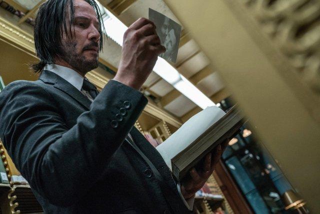 John Wick (Keanu Reeves) en John Wick: Chapter 3 - Parabellum (2019). Imagen: John Wick: Chapter 3 - Parabellum Twitter (@JohnWickMovie).