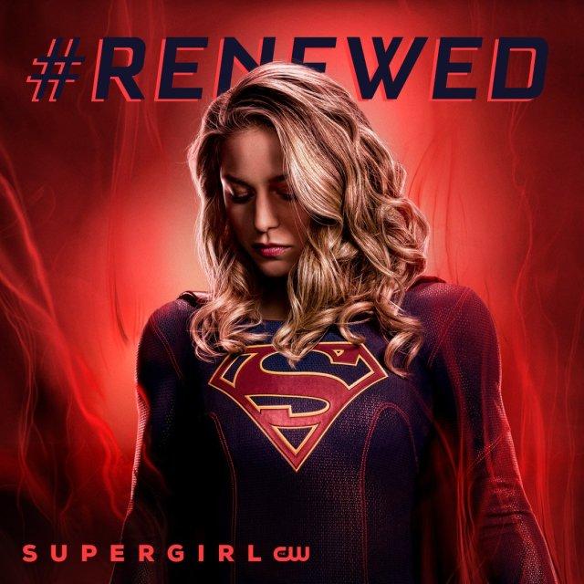 Supergirl y las otras series de DC Comics renovadas en The CW. Imagen: Supergirl Twitter (@TheCWSupergirl).