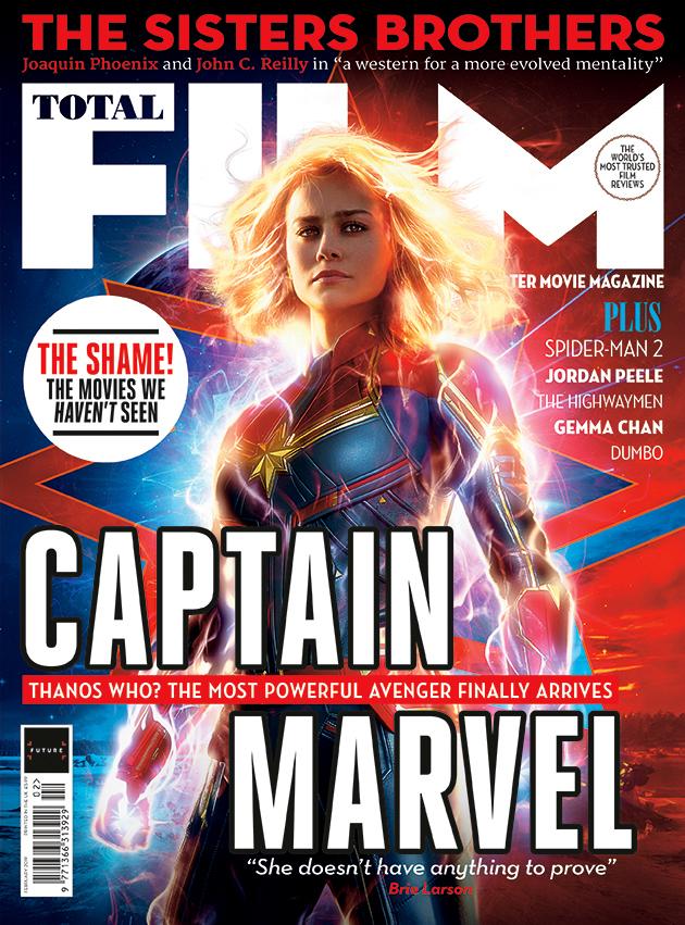 Portada de Total Film (febrero de 2019). Imagen: GamesRadar