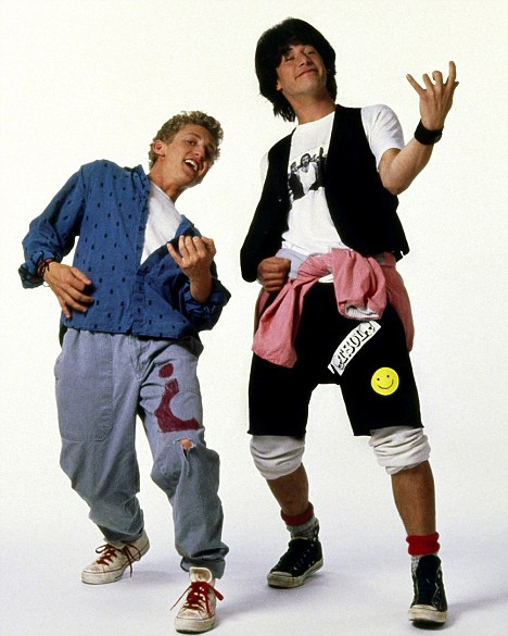 Bill (Alex Winter) y Ted (Keanu Reeves) son los Wyld Stallyns. Imagen: Orion Pictures/Everett Collection/Rex Features