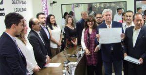 Bonilla se registra como único candidato en coalición