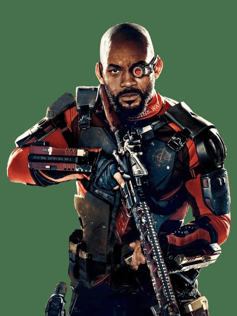 Deadshot (Will Smith) en Suicide Squad (2016). Imagen: pinterest.com