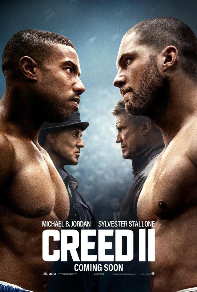 Póster de Creed II (2018). Imagen: impawards.com