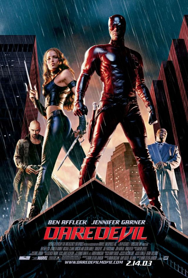 Póster de Daredevil (2003). Imagen: impawards.com