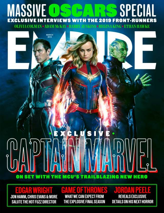 Portada de Empire (marzo de 2019). Imagen: Empire Magazine