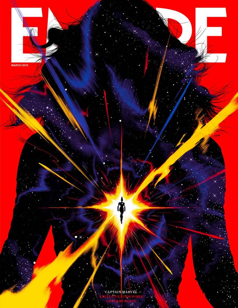 Portada para subscriptores de Empire (marzo de 2019). Imagen: Empire Magazine