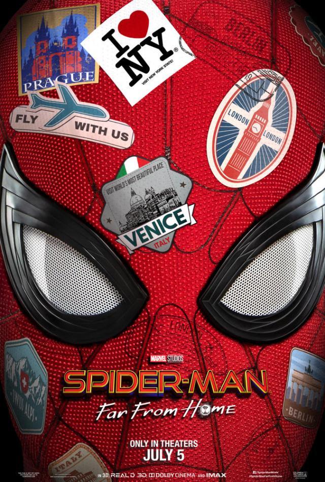 Póster de Spider-Man: Far From Home (2019). Imagen: Marvel.com