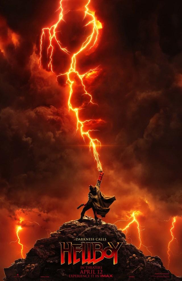 Póster IMAX de Hellboy (2019). Imagen: impawards.com