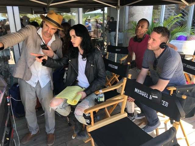Krysten Ritter dirigió un episodio de la temporada 3 de Jessica Jones. Imagen: Netflix