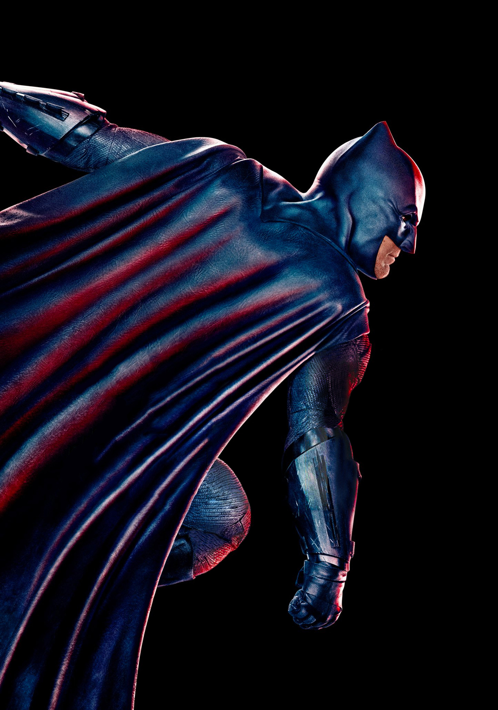 Batman (Ben Affleck) en Justice League (2017). Imagen: fanart.tv