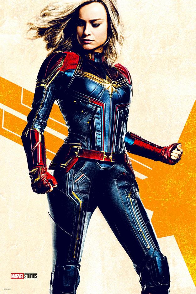 Póster de Captain Marvel (2019). Imagen: Marvel.com