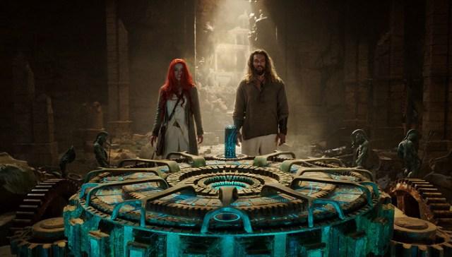 Amber Heard y Jason Momoa son los protagonistas de Aquaman (2018). Imagen: dccomics.com